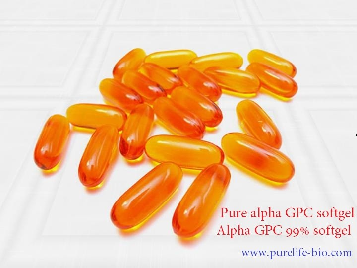 alpha GPC 99% softgels