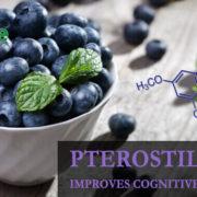 Pterostilbene improves cognitive function