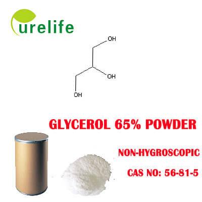 Non-Hygroscopic Glycerol 65% powder