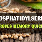 Phosphatidylserine improves memory
